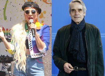Lady Gaga, Jeremy Irons