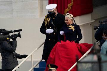 Lady Gaga na inauguracji prezydentury Bidena