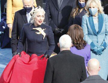 Lady Gaga na inauguracji prezydentury Joe Bidena