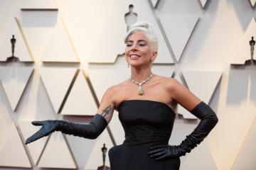 Lady Gaga podczas 91. ceremonii rozdania Oscarów w 2019 roku