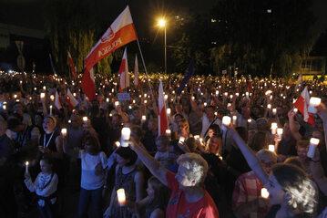 Łańcuch Światła w Katowicach