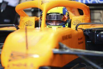Lando Norris w McLarenie