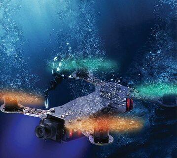 Lata, nurkuje i pływa. Ten polski dron to ewenement na skalę światową