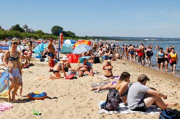 Lato nad morzem, zdj. ilustracyjne