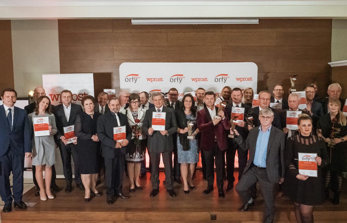 """Laureaci nagrody Orły """"Wprost"""" w Białymstoku"""