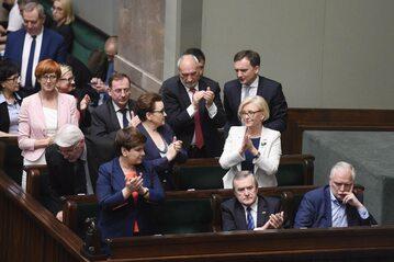 Ławy rządowe w Sejmie