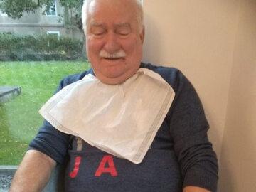 Lech Wałęsa na Facebooku relacjonuje wizytę w Lądku-Zdroju