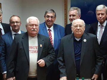 Lech Wałęsa spotkał się z Michaiłem Gorbaczowem w listopadzie 2019 roku