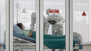 Leczenie pacjenta z koronawirusem
