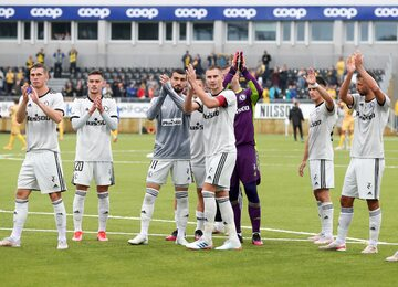 Legia Warszawa po meczu z FK Bodo/Glimt