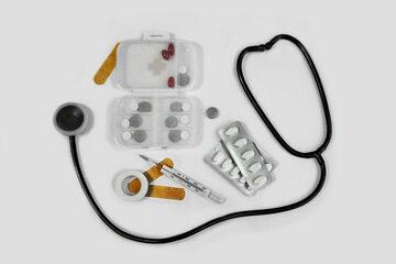 Lekarstwa na stole