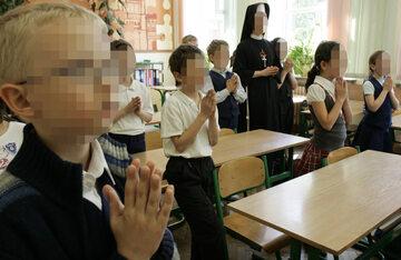 Lekcja religii w jednej z lubelskich podstawówek