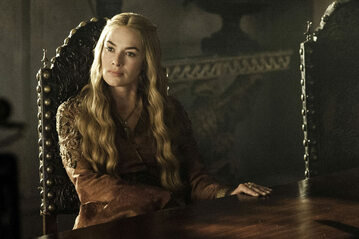 "Lena Headey jako Cersei Lannister w serialu ""Gra o tron"""