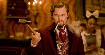 """Leonardo DiCaprio w filmie """"Django"""""""