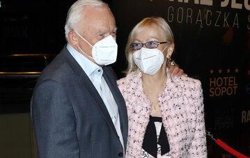 Leszek Miller i jego żona Aleksandra