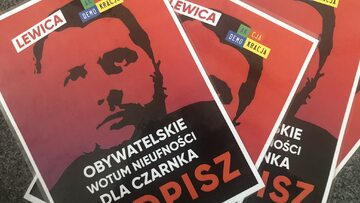 Lewica i Akcja Demokracja chcą wotum nieufności wobec Przemysława Czarnka