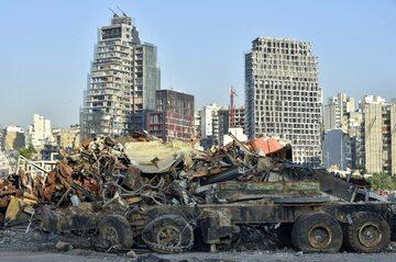 Liban. Eksplozja w Bejrucie