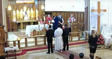 Liturgia Wielkiego Piątku w polskim kościele w Balham