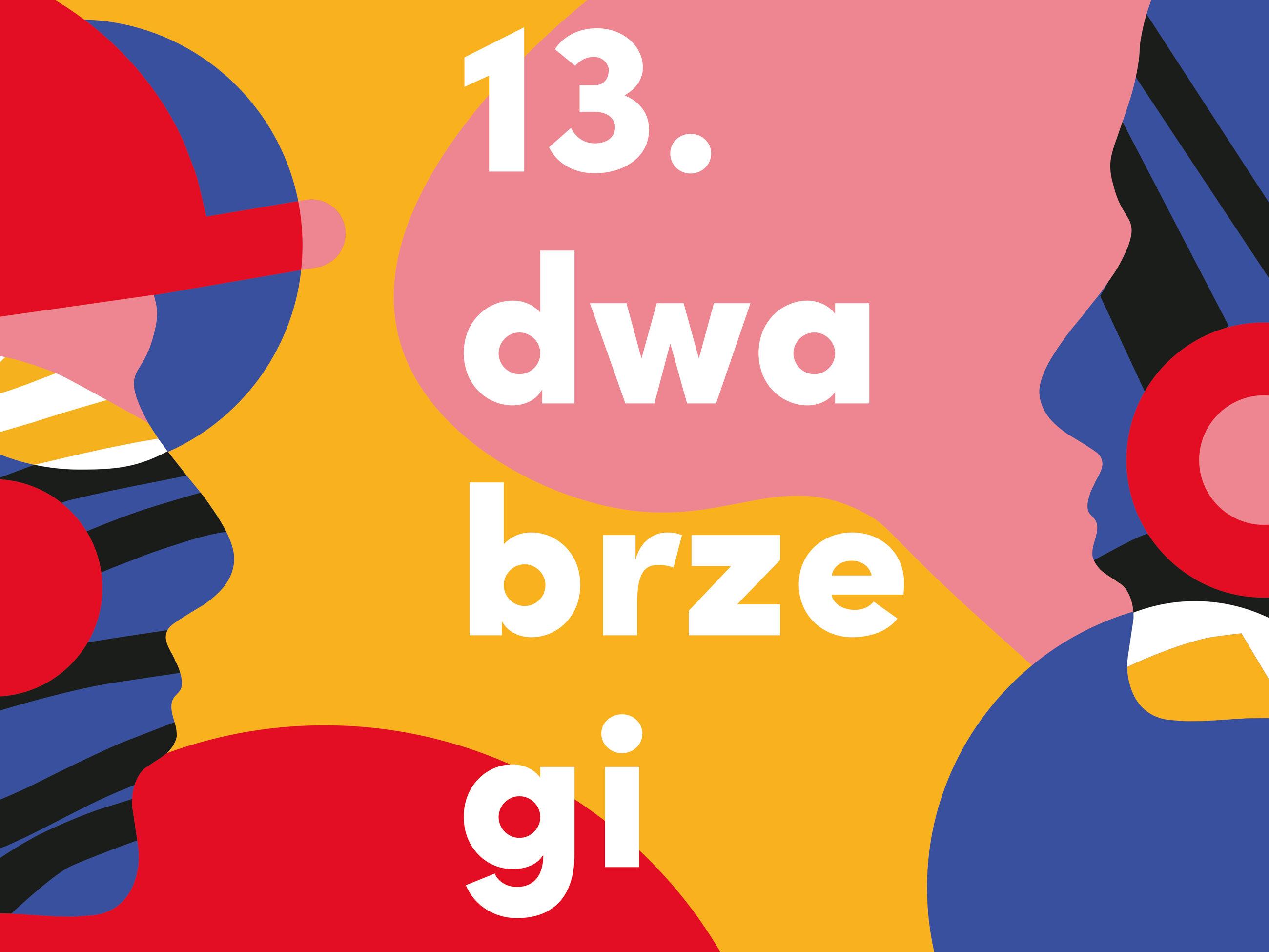 Logo festiwalu Dwa Brzegi