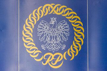 Logo Krajowej Rady Sądownictwa