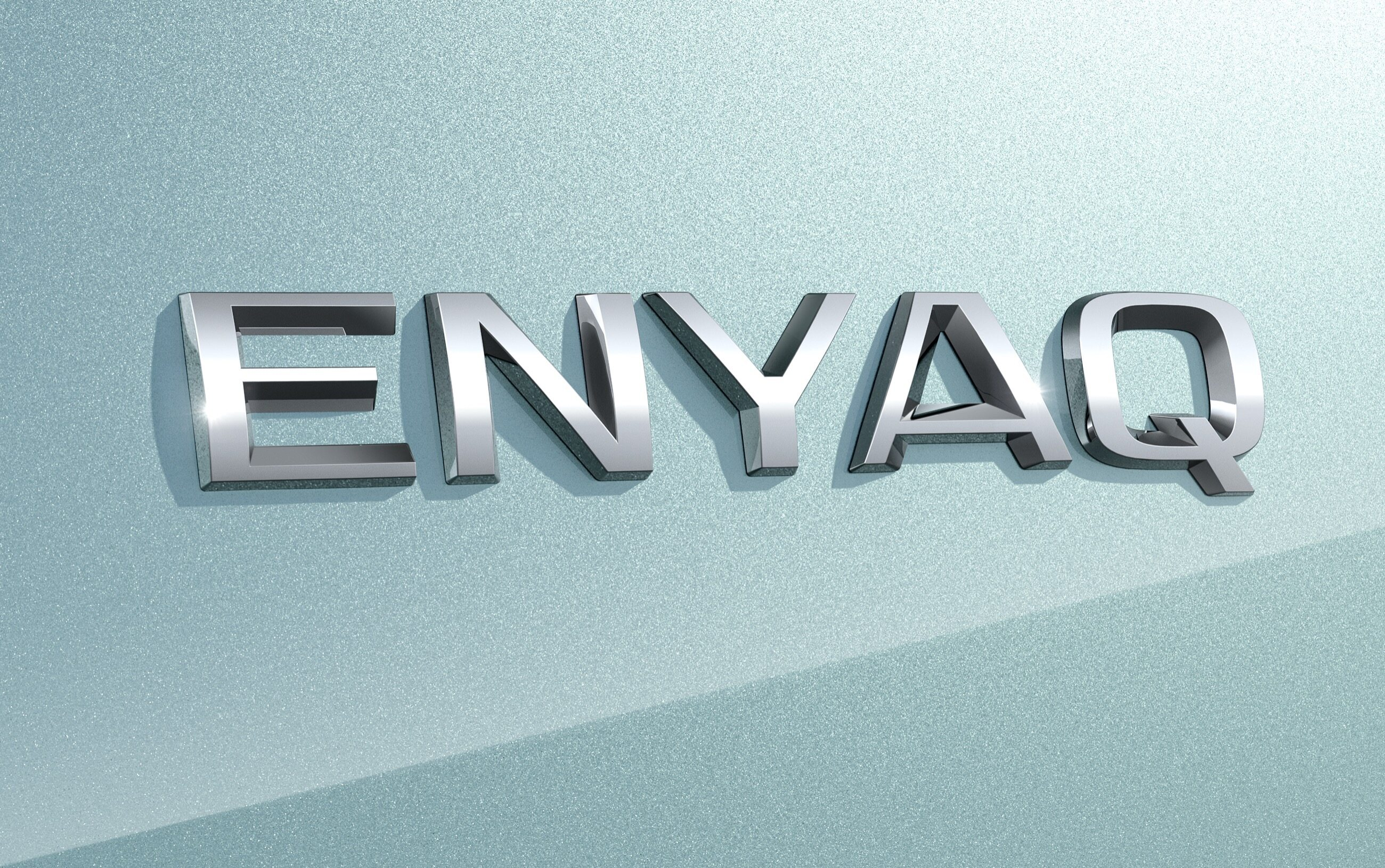 Logo Skody Enyaq