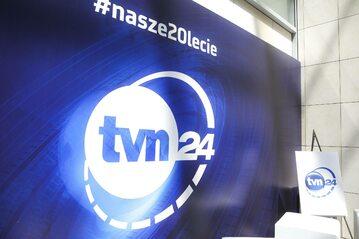 Logo stacji TVN 24