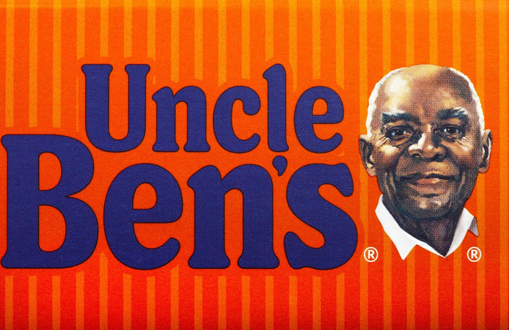 """Logo """"Uncle Ben's"""" sprzed zmiany"""