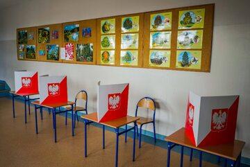 Lokal wyborczy, zdj. ilustracyjne