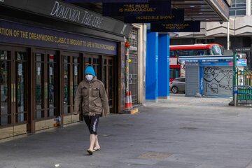 Londyn w czasie epidemii koronawirusa