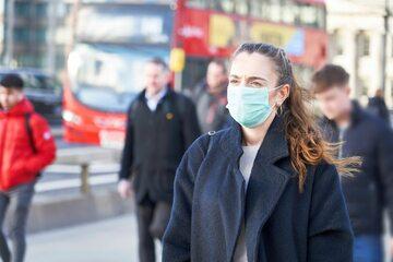 Londyn w trakcie pandemii koronawirusa, zdj. ilustracyne