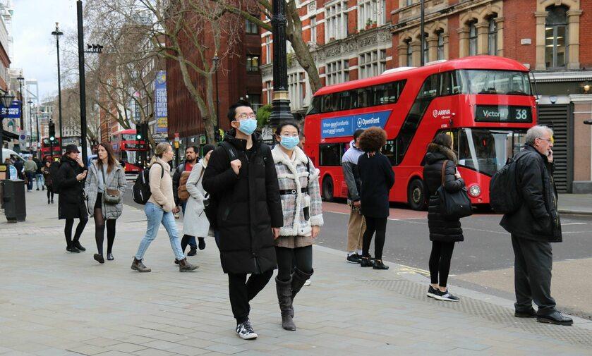 Londyn w trakcie pandemii