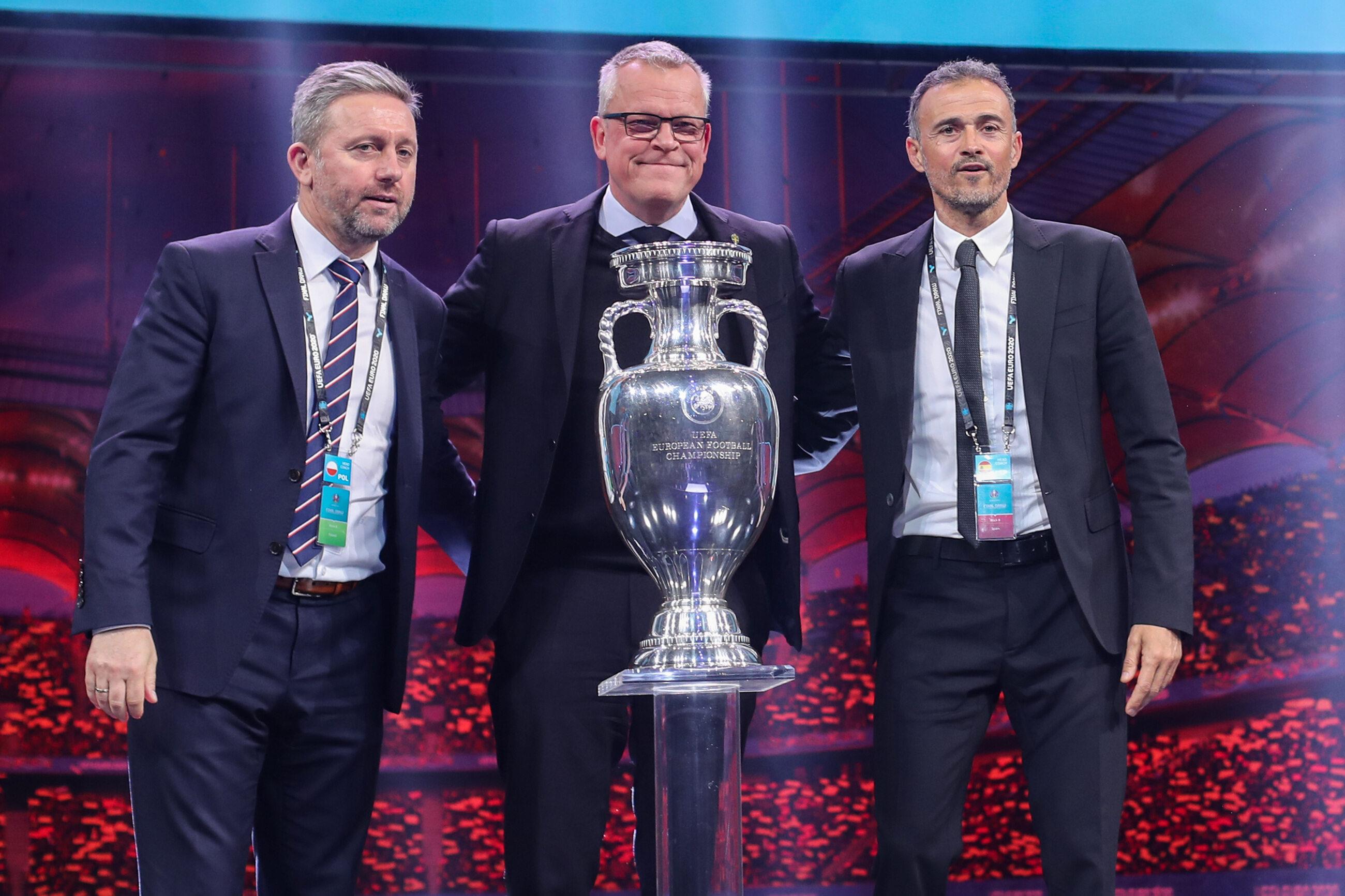 Losowanie grup Euro 2020 - trenerzy grupy E