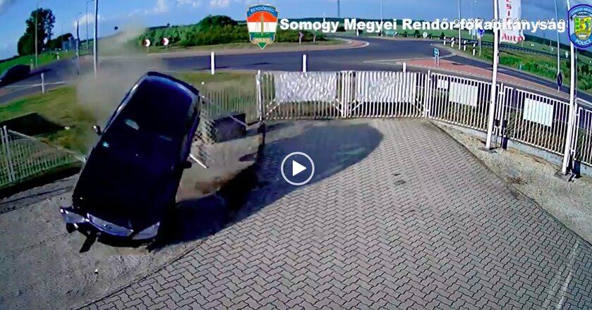 Lot kierowcy z Węgier