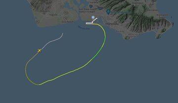 Lot T4810, mapa za Flightradar