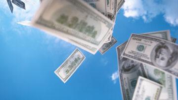Loteria, pieniądze, zdj. ilustracyjne