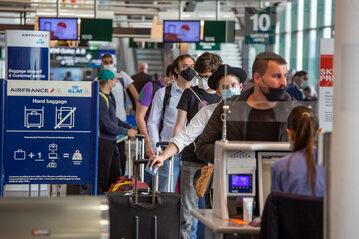 Lotnisko Malpensa w Mediolanie we Włoszech