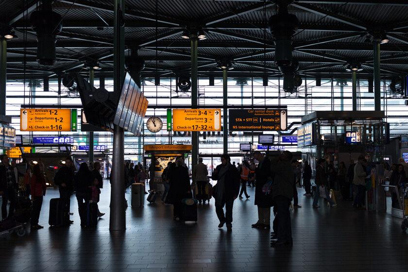 Lotnisko Schiphol w Amstedamie