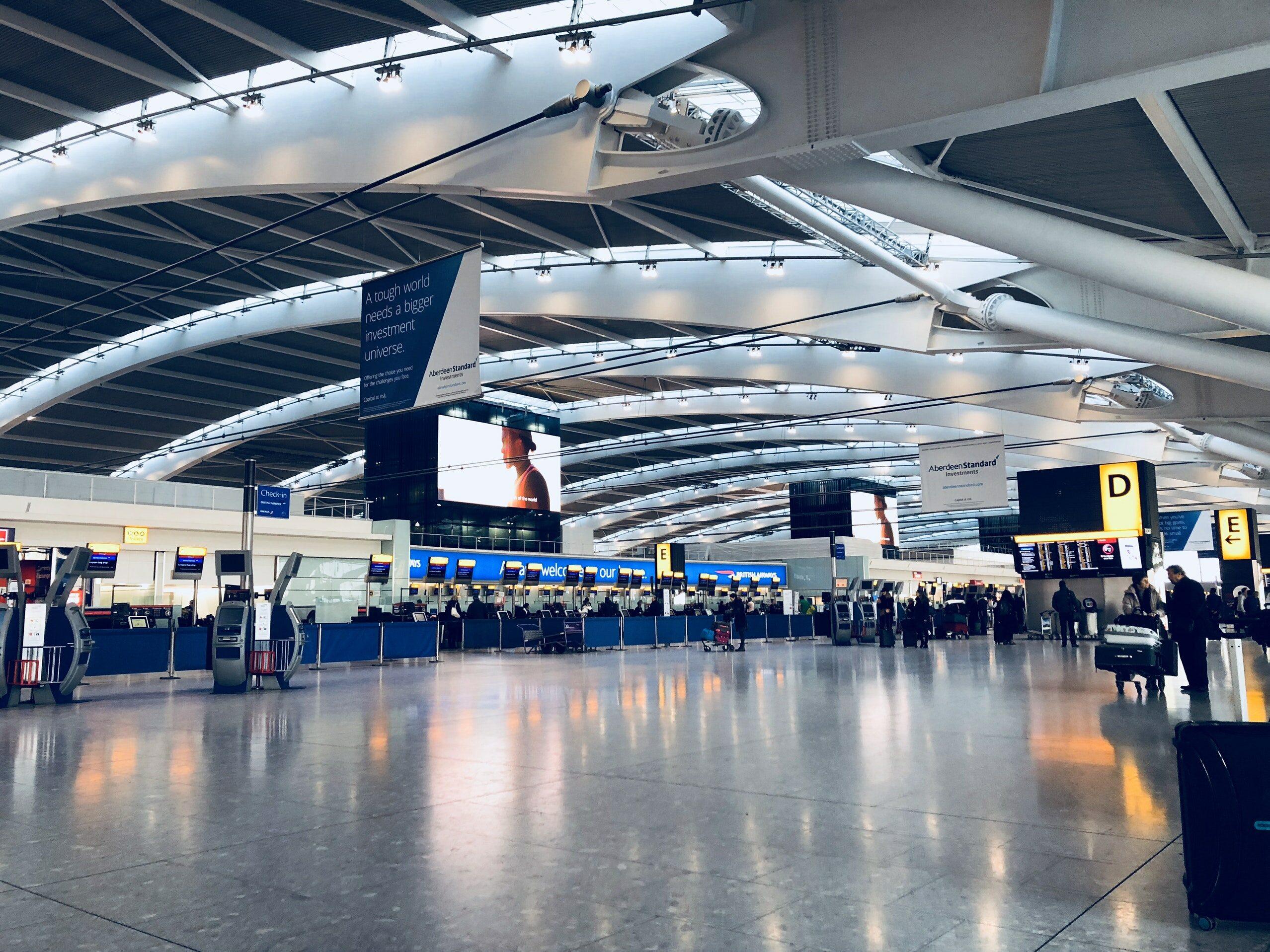 Lotnisko w Londynie