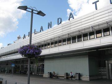 Lotnisko w Sztokholmie, zdjęcie ilustracyjne