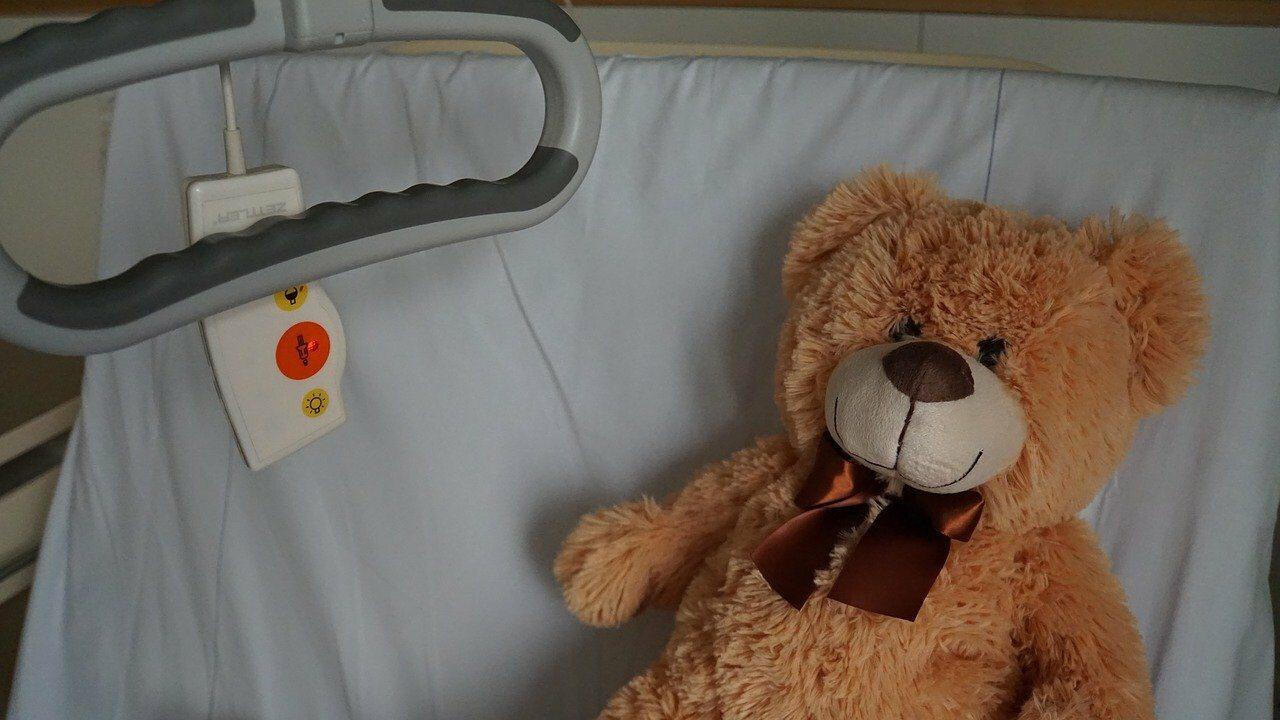 Łóżko niepełnosprawnego dziecka