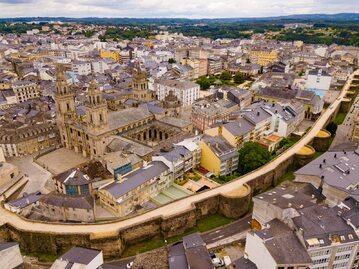 Lugo w hiszpańskiej Galicji
