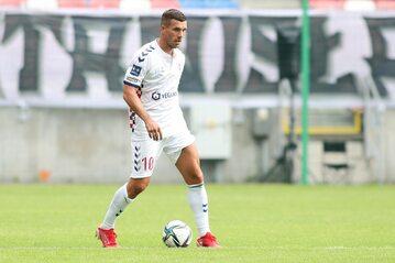 Lukas Podolski w barwach Górnika