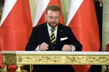 LUKASZ SZUMOWSKI FOT DAMIAN BURZYKOWSKI / NEWSPIX.PL