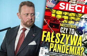 """Łukasz Szumowski o okładce """"Sieci"""""""