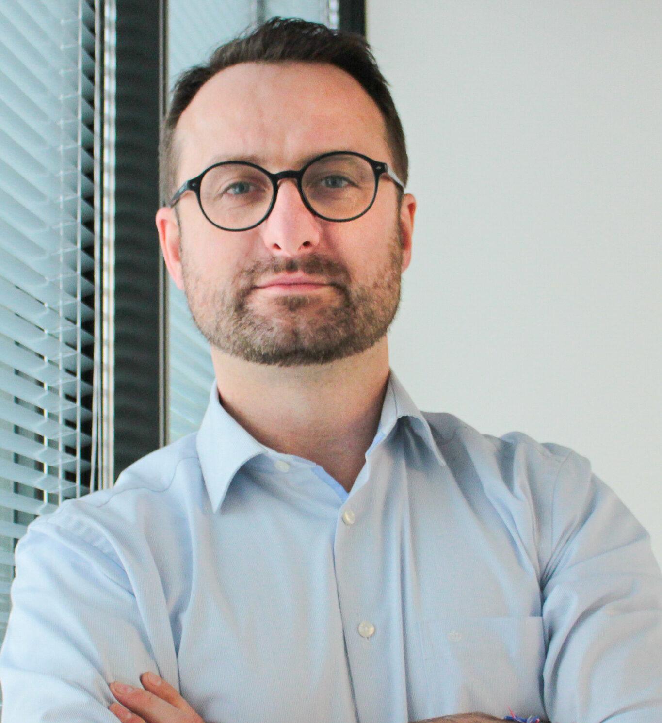 Łukasz Wójcik - dyrektor marketingu MMC Car Poland, generalnego dystrybutora marki Mitsubishi w Polsce