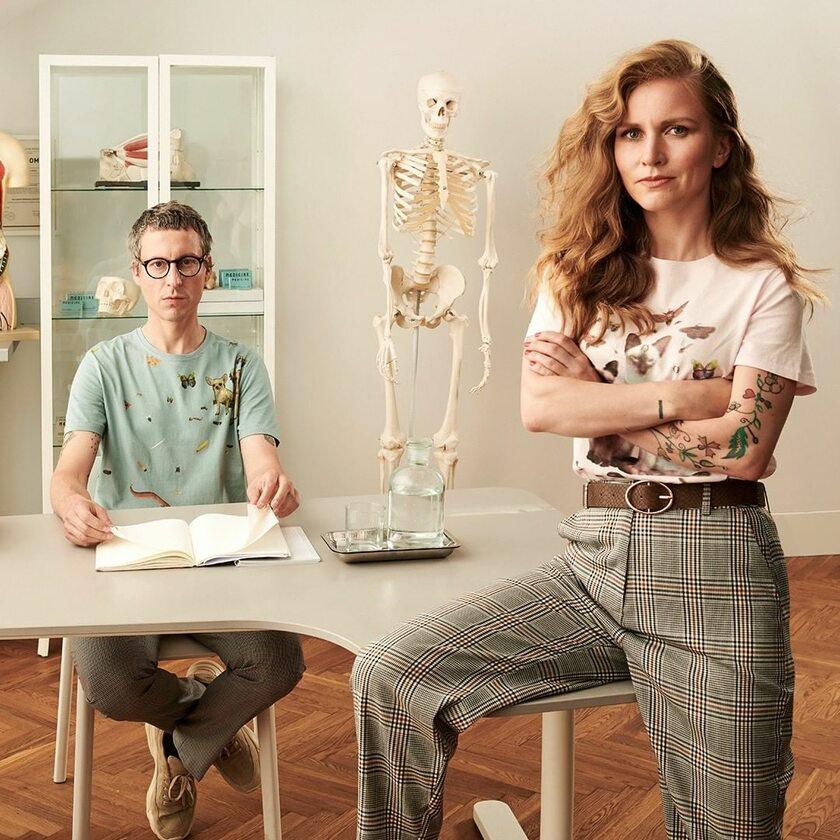 Maciej Chorąży i Dorota Masłowska w kampanii Medicine