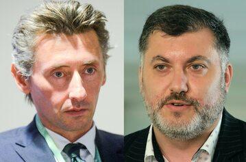 Maciej Gdula i Artur Dziambor
