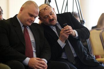 Maciej Grubski (po lewej)