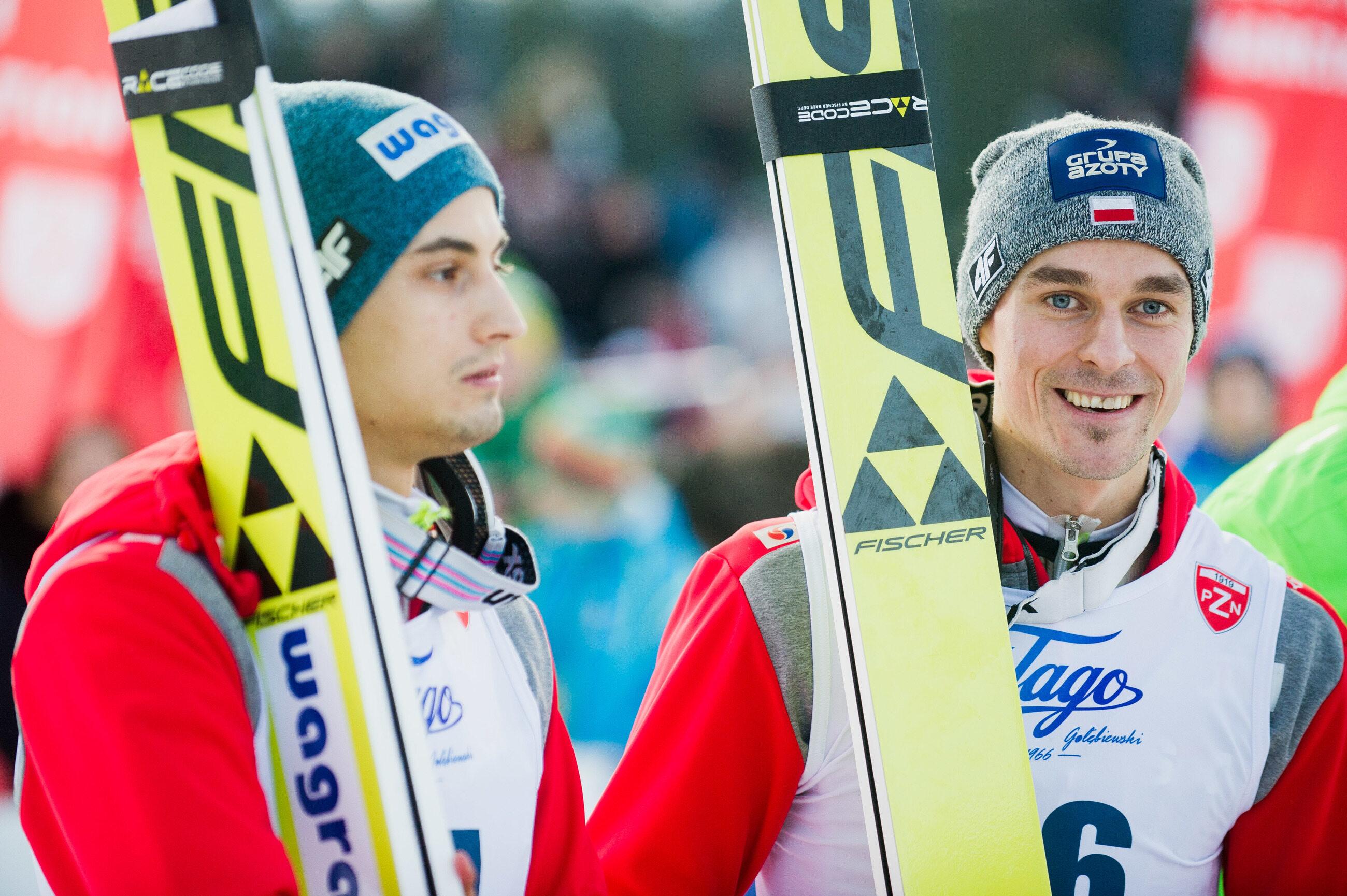 Maciej Kot i Piotr Żyła
