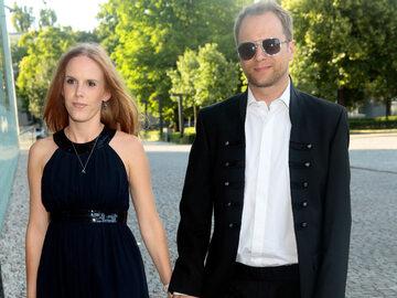 Maciej Stuhr i jego żona Katarzyna Błażejewska-Stuhr